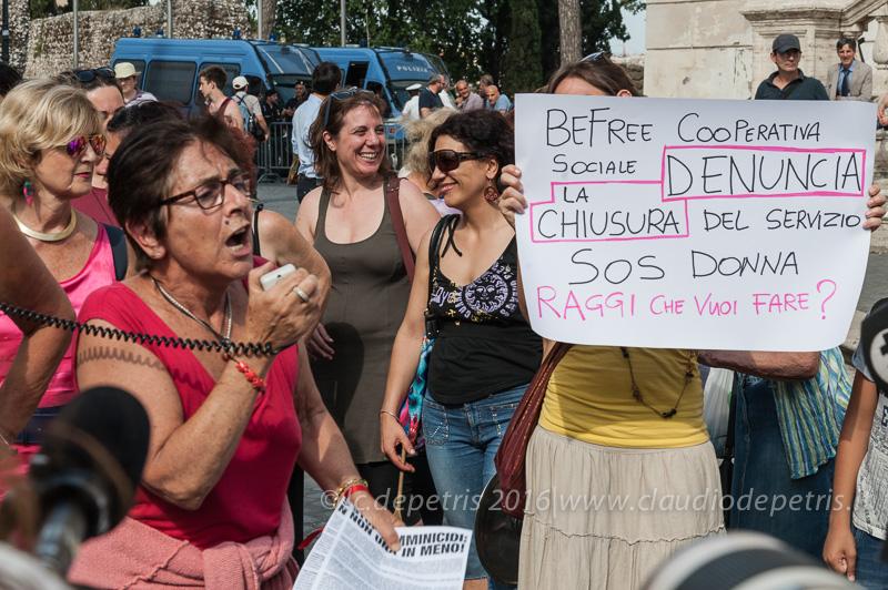 Stop femminicidi, Roma 24/6/2016