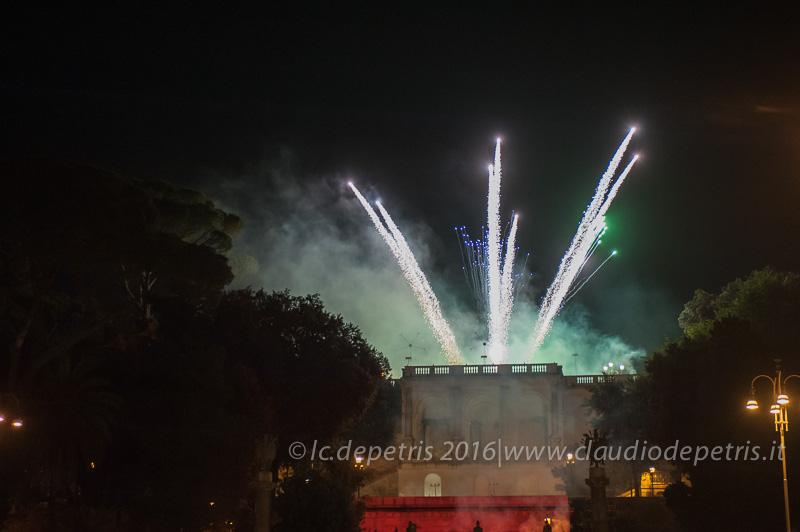 Girandola a piazza del Popolo 2016
