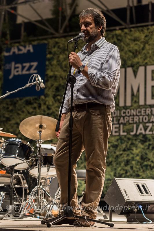 Luciano Lenzi coordinatore Casa del Jazz