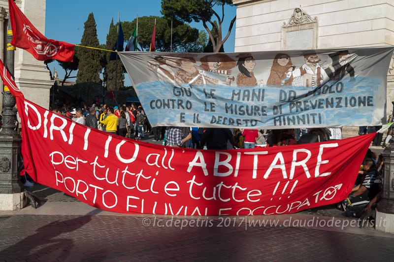 Assemblea movimento per il diritto all'abitare, 13/4/2017