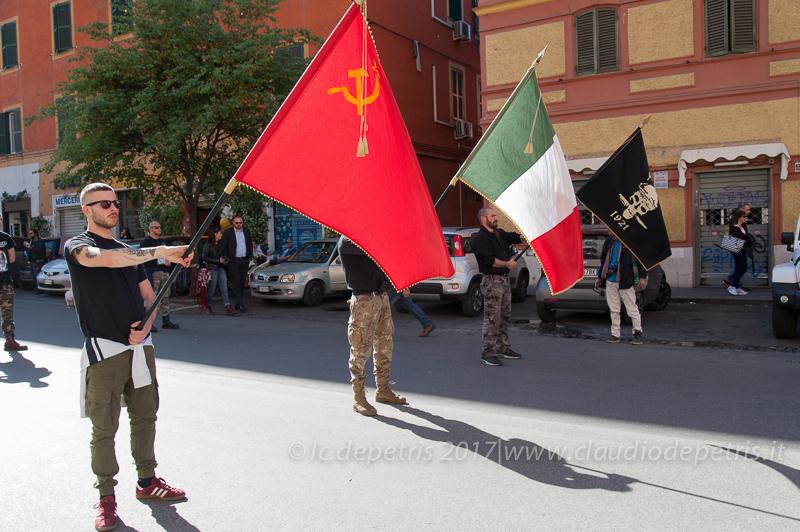 Marcia commemorativa in onore dei partigiani, 29/4/2017