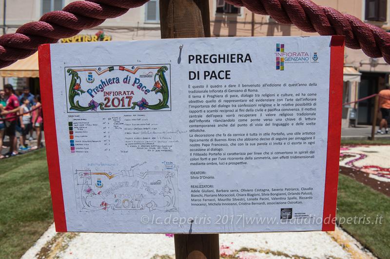 Genzano di Roma: 'Infiorata 2017'
